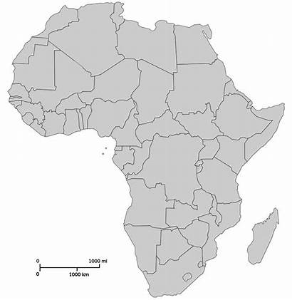 Africa Map South Afrique Wikimedia Commons Blank