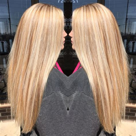 Golden Platinum Hair by Golden Base With Platinum Highlights And Neutral