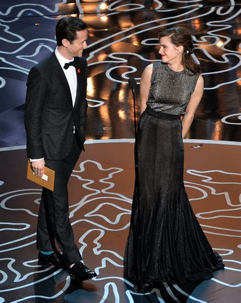 Emma Watson Joseph Gordon Levitt Oscars