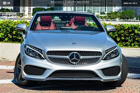 This c300 cabriolet variant comes with an engine putting out and of max power and max torque respectively. Used 2017 Mercedes-Benz C-Class C 300 For Sale ($41,000) | Brickell Luxury Motors Stock #L3071