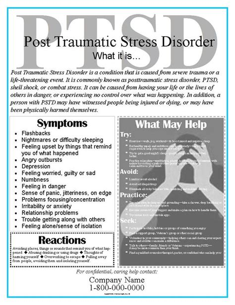 Eaposterscom Ptsd Posters Or Post Traumatic Stress Disorder Posters Perfect For Ptsd Handout