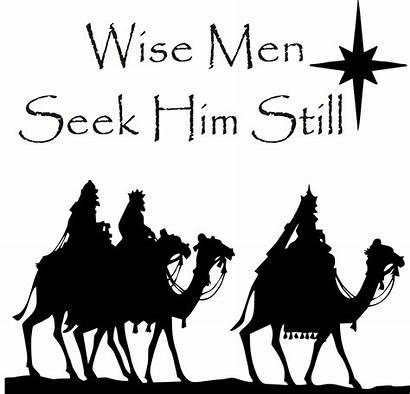 Clipart Wise January Wisemen Christmas Manger Jesus