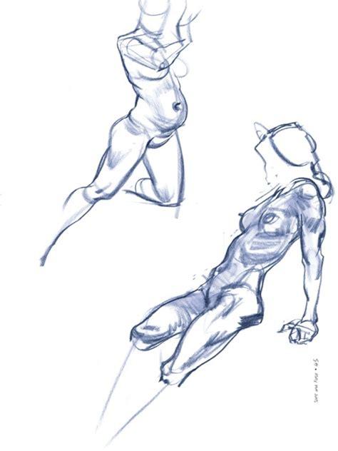 sketchbooks spirit force  figure drawing  guide