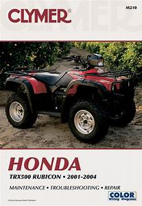 Honda Trx500 Rubicon Series Atv  2001