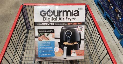costco fryer air gourmia digital quart hip2save airfryer