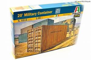 20 Fuß Container In Meter : italeri 6516 20 fu container bausatz kunststoff 1 35 zubeh r ~ Frokenaadalensverden.com Haus und Dekorationen