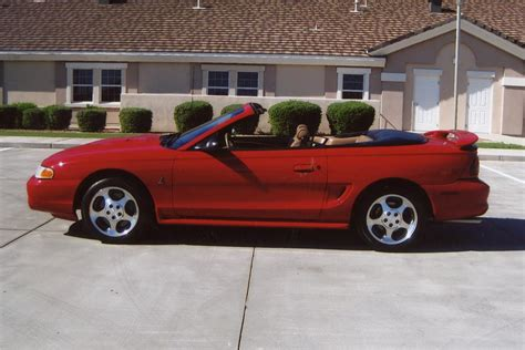ford mustang cobra svt convertible