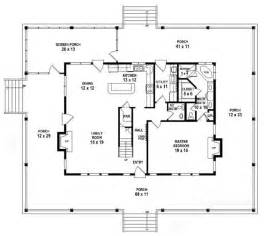 5 Bedroom Single Story House Plans 653784 1 5 Story 3 Bedroom 2 5 Bath Country Farmhouse Style House Plan House Plans Floor