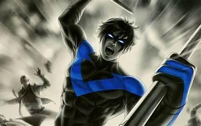 Nightwing 4k Artwork Wallpapers Resolution Laptop Superheroes