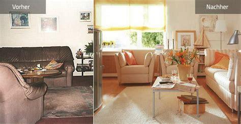 Schöner Wohnen Vorher Nachher by Vorher Nachher Wohnzimmer