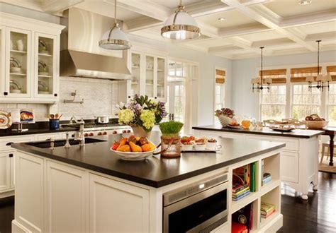 mod鑞e cuisine avec ilot central modèle cuisine avec îlot centrale blanc deco maison moderne