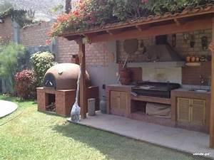 Barbecue De Jardin : hornos de barro y jardines buscar con google dise o de ~ Premium-room.com Idées de Décoration
