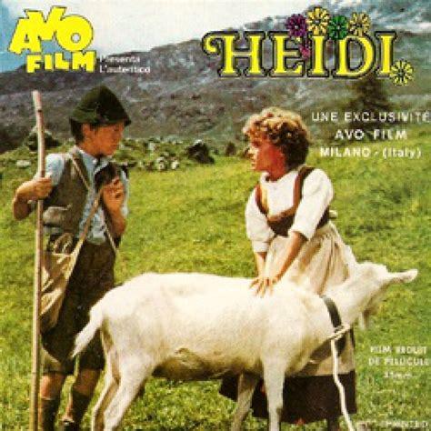 heidi heidi  les chevrettes film super  bd cinecom