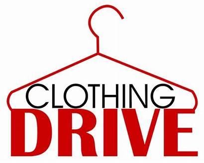 Drive Clothing Clipart Clothes Donation Fundraiser Closet