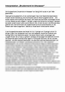 Brudermord Im Altwasser Pdf : interpretation brudermord im altwasser von georg britin ~ A.2002-acura-tl-radio.info Haus und Dekorationen