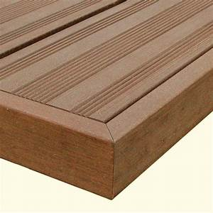 Terrasse Lame Composite : lame terrasse composite marron ~ Edinachiropracticcenter.com Idées de Décoration