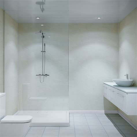 multipanel classic riven marble unlipped bathroom wall panel
