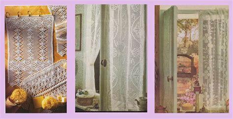antoniadaix rideaux dentelle au crochet et au tricot