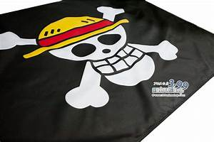 One Piece – Straw Hats Pirate Jolly Roger Flag - For Sale
