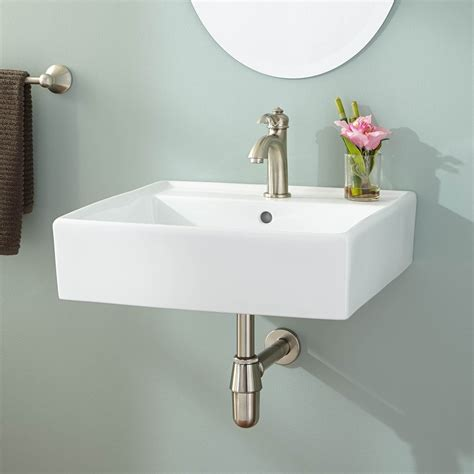 Bathroom Sinks For Small Bathrooms by Chelsey Wall Mount Bathroom Sink Wall Mount Sinks