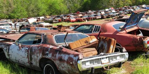 Abandoned Muscle Cars! Over 700 Abandoned Dodges (mostly