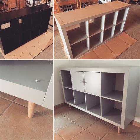 customiser un meuble ikea kallax ou expedit cr 233 ation by