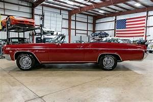 1966 Chevrolet Impala 36824 Miles Regal Red Convertible