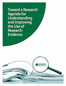 Toward a Research Agenda for Understanding and Improving ...
