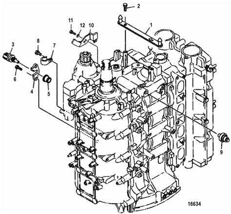 mariner  hp efi  stroke sensors parts