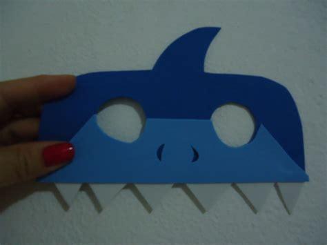 molde mascara tiburon m 225 scara de tubar 227 o charmoso ba 250 da imagina 231 227 o elo7