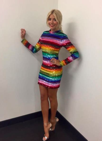 The best looks from Holly Willoughby's working wardrobe ...