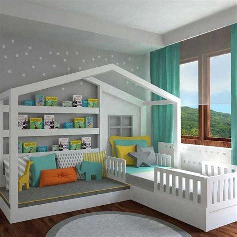 canapé bibliothèque diy lit cabane enfant canape chambre enfant meuble