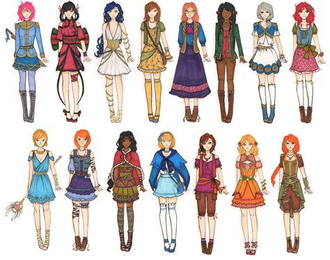 Girl Fantasy Ocu0026#39;s *UPDATED* by AddzB on DeviantArt