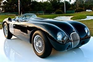 Vintage C-type Jaguar