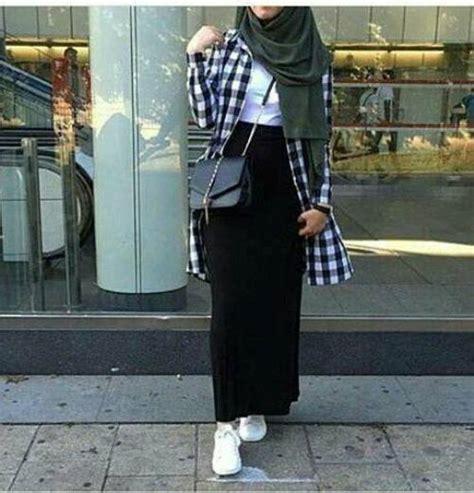 wear pencil skirts  hijab  trendy girls