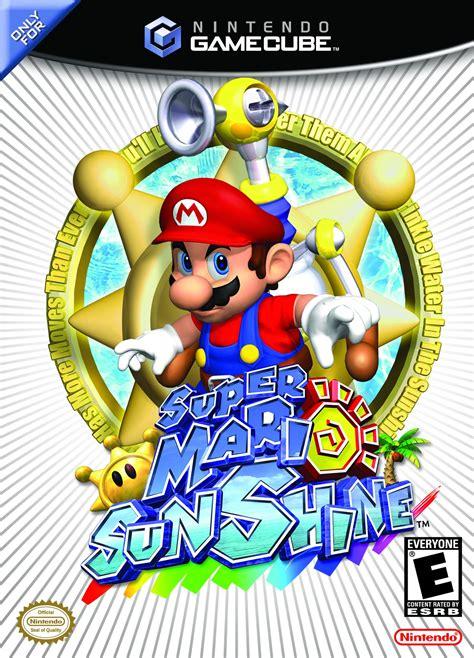 Super Mario Sunshine 2002 Promotional Art Mobygames