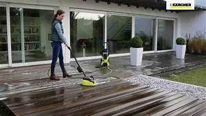 Appareil Nettoyage Sol Pour Maison : k rcher nettoyeur de terrasses t racer 550 youtube ~ Melissatoandfro.com Idées de Décoration