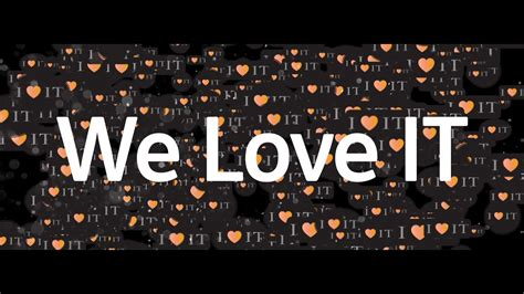 We Love It!  Youtube