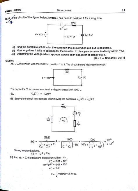 Voltage Circuit Problem Electrical Engineering