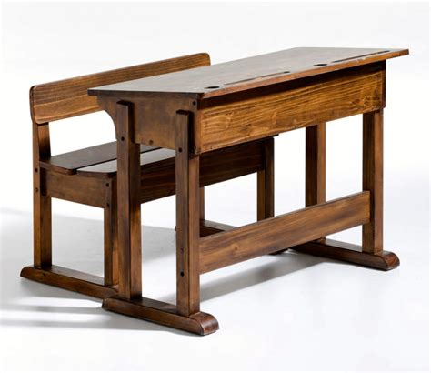 bureau pupitre bois meubles et déco vintage chez la redoute