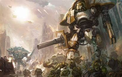Warhammer 40k Imperial Knight Orks Orcs Blade