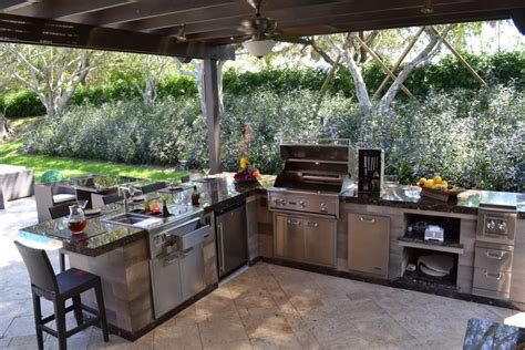 design your own outdoor kitchen create your own outdoor kitchen dining area allgreen inc 8664