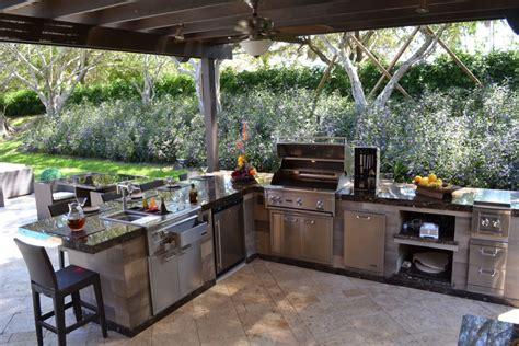 outdoor kitchen design create your own outdoor kitchen dining area allgreen inc 1298