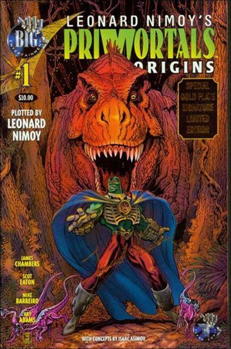 leonard nimoy comic book leonard nimoy s primortals origins 1 c jan 1996 comic