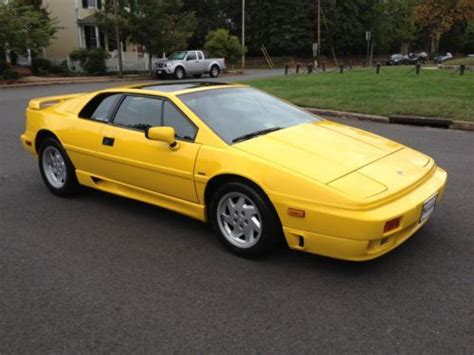 Cheap 4 Cylinder Turbo Cars by Sell Used 1991 Lotus Esprit Se 4 Cylinder Turbo With