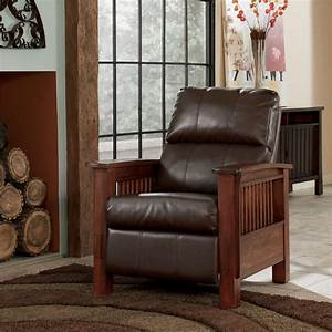 Signature design by ashley santa fe 1990026 high leg for Ashley santa fe recliner