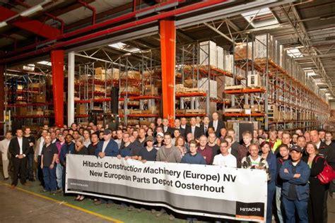 hitachi opens  european parts depot