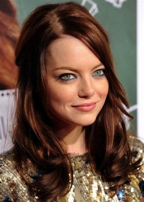Actresses Hair Color by 17 Best Ideas About Brown Auburn Hair On