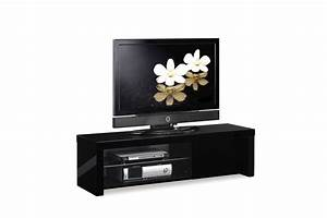 Meuble Pas Cher Conforama : meuble tv pas cher noir choix d 39 lectrom nager ~ Dailycaller-alerts.com Idées de Décoration