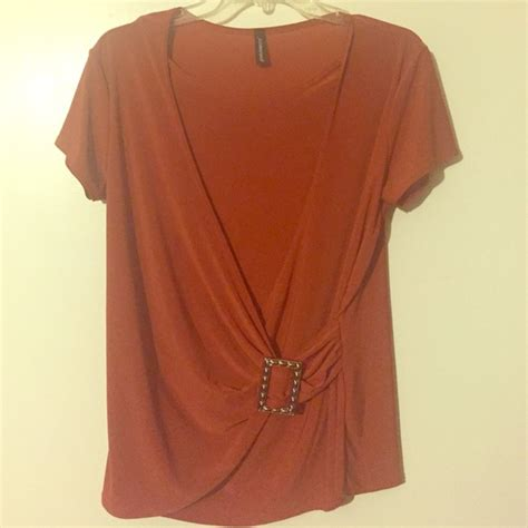 burnt orange blouse 50 tops burnt orange blouse from 39 s closet on